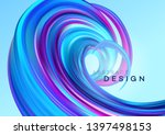 color flow abstract shape... | Shutterstock .eps vector #1397498153