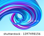 color flow abstract shape... | Shutterstock .eps vector #1397498156