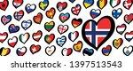 song festival euro songfestival ... | Shutterstock .eps vector #1397513543