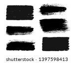 brush strokes. vector... | Shutterstock .eps vector #1397598413