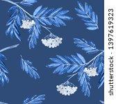 watercolor seamless pattern... | Shutterstock . vector #1397619323