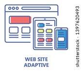 adaptive website line color...