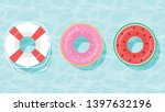 Lifebuoy Icon Set. Rings For...