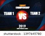 illustration of  cricket... | Shutterstock .eps vector #1397645780