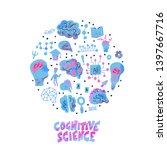 cognitive science round... | Shutterstock .eps vector #1397667716