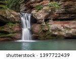 A Cascading  Terraced Waterfal...