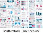 medical infographic elements... | Shutterstock .eps vector #1397724629