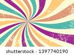 retro starburst or sunburst...   Shutterstock .eps vector #1397740190