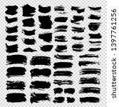 textured abstract black strokes ...   Shutterstock .eps vector #1397761256