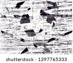 distressed background in black... | Shutterstock . vector #1397765333