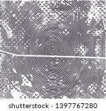 distressed background in black... | Shutterstock . vector #1397767280