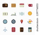 Vacation Icons And Travel Icons ...