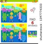 cartoon illustration of finding ...   Shutterstock .eps vector #1397774333