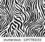 Full Seamless Zebra Tiger...