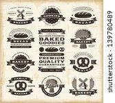 Vintage Bakery Labels Set....