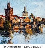 View On The Charles Bridge And...