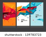 vector abstract background set... | Shutterstock .eps vector #139783723