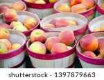 Baskets Of Peaches Are...