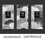 set template for package or... | Shutterstock .eps vector #1397905133