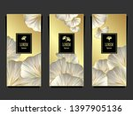 set template for package or... | Shutterstock .eps vector #1397905136