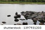 toyohashi mikawa seaside green ... | Shutterstock . vector #1397931203