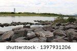 toyohashi mikawa seaside green ... | Shutterstock . vector #1397931206