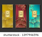 set template for package or... | Shutterstock .eps vector #1397946596