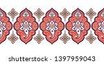 indian paisley pattern vector...   Shutterstock .eps vector #1397959043