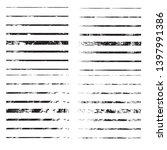 horizontal textured stripes.... | Shutterstock .eps vector #1397991386
