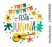 festa junina illustration....   Shutterstock .eps vector #1398006800