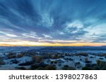 beautiful mountain view in the... | Shutterstock . vector #1398027863