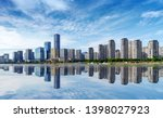 now the city skyline  fuzhou ... | Shutterstock . vector #1398027923