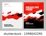 template design with dynamic... | Shutterstock .eps vector #1398042290