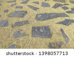 a design of pathway pattern at... | Shutterstock . vector #1398057713