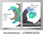 vector layout of a4 format... | Shutterstock .eps vector #1398063656