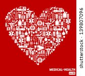 medical icon background.   Shutterstock .eps vector #139807096
