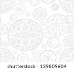 abstract seamless background | Shutterstock . vector #139809604