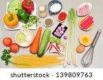 prepare for cook in kitchen | Shutterstock . vector #139809763
