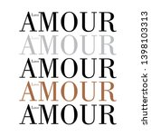 amour love illustration vector... | Shutterstock .eps vector #1398103313