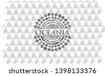 oceania realistic grey emblem...   Shutterstock .eps vector #1398133376