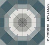 multicolor mosaic texture.... | Shutterstock . vector #1398152303