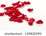 Stock photo rose petals background 139820290