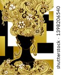 template flyer poster package... | Shutterstock .eps vector #1398206540