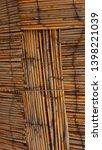 Closeup Of Bamboo Natural Cane...
