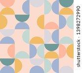 geometry minimalistic artwork... | Shutterstock .eps vector #1398272990