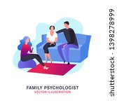 psychologist  psychotherapist... | Shutterstock .eps vector #1398278999
