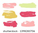paint background texture stains ... | Shutterstock .eps vector #1398283706