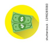 dollar vector sign  money...   Shutterstock .eps vector #1398285083