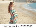 portrait of beautiful pregnant... | Shutterstock . vector #139828903