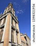 poland landmark   basilica of... | Shutterstock . vector #1398321956